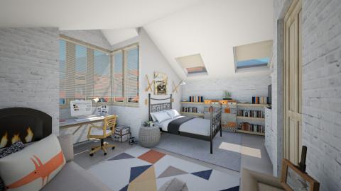 Tiny attic - Bedroom  - by Lizzy0715
