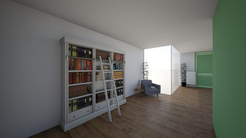 Green House Teens hallway - Bedroom - by Ellzbee