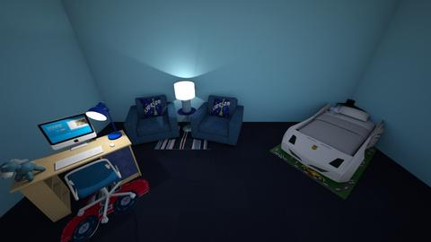 Yayx2 Little Boys Bedroom - Bedroom  - by Yay x2 Design
