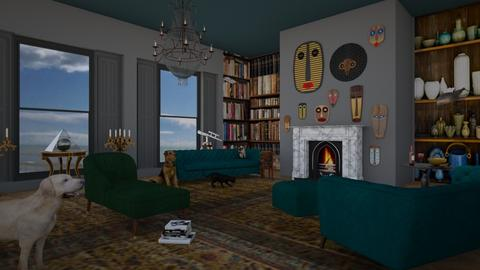 my retirement home - Eclectic - Living room  - by kitty