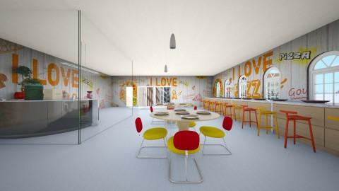 Pizza Joint 2 - Modern - by InteriorDesigner111