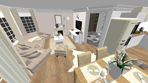 EG Erker klein - Retro - Living room - by caiine