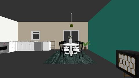 Upstairs - Kitchen  - by TScott0713