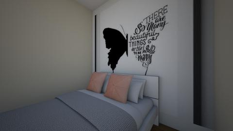 Butter Fly Room - Bedroom - by Potato_Chips_Are_Savvy