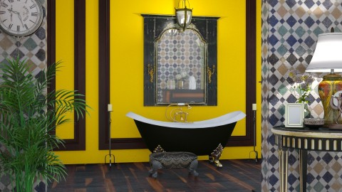 bathtub - Vintage - Bathroom  - by donella