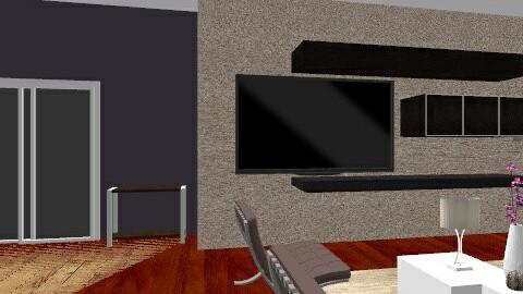 indoor outdoor - Glamour - Living room  - by eeason
