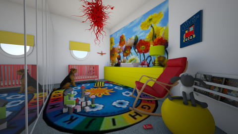 For Nikki 2 - Eclectic - Kids room  - by Theadora