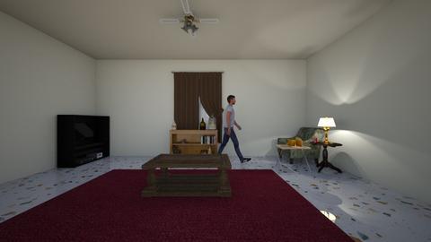 Latrobe Street - Living room  - by WestVirginiaRebel