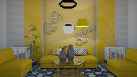 Honeycomb - Living room  - by kasjdg