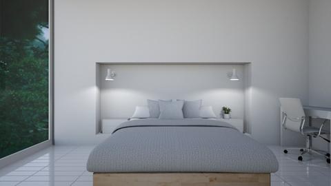 minimal bedroom - Minimal - Bedroom  - by madaline