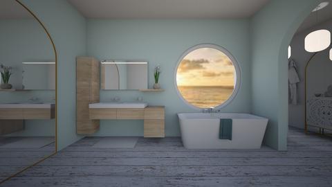 Nautical Bathroom - Bathroom  - by BaylorBear