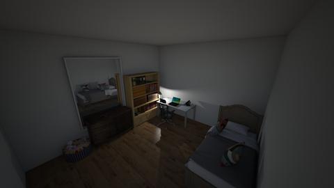 Cuarto de Sara - Bedroom  - by DelPiero7