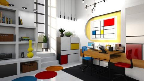 Bauhaus Study - by ZsuzsannaCs