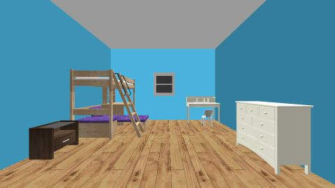 my room - Classic - Kids room  - by Abigail Carter