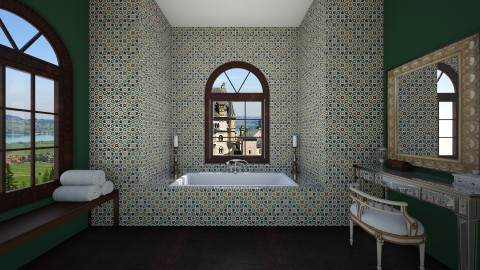 fanciness - Bathroom  - by thehomewhisperer