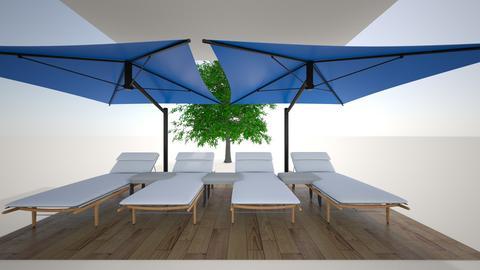 chaise pool area - Garden  - by Giacomo3rd