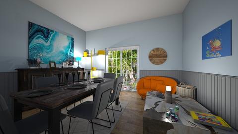 Rachel Part One - Living room  - by CampbellsInteriors