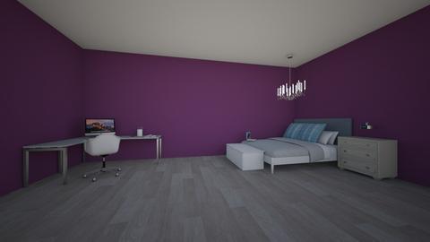 mordern bedroom - Modern - Bedroom - by waltzjordan