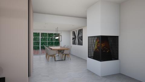 Nieuw ontwerp haard - Living room  - by Claradanixx