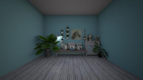 Rustic Plants  - Rustic - Living room  - by deleted_1608203381_sparky_