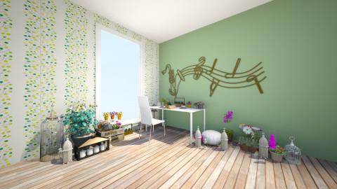 Cielo - Rustic - Living room  - by Jenni Leguiza