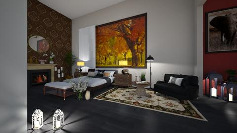 Fall bedroom 2 - Bedroom  - by Wensday
