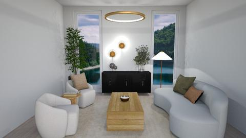 Living_ Modern Luxe - Modern - Living room  - by milk07Designs