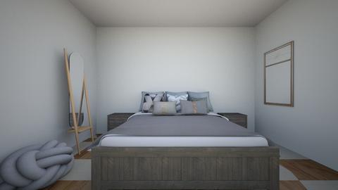 Modern bedroom - Modern - Bedroom  - by nataliavnunez