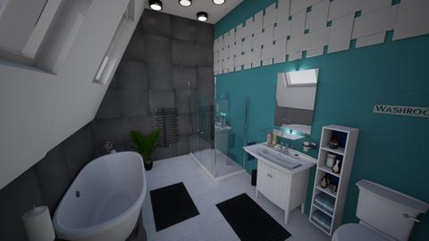 Chill out ensuite - Bathroom - by HazelMP