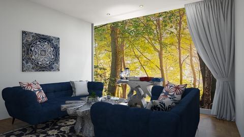 Nautical LR - Living room  - by Doraisthe_nameofmydoggo12345