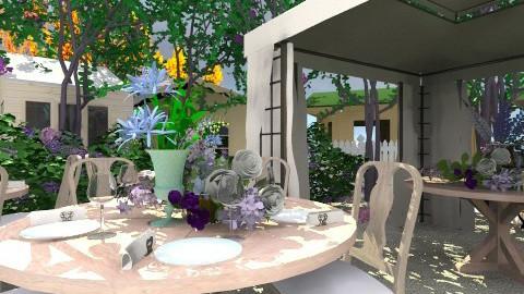 Backyard Wedding - Garden  - by lauren_murphy