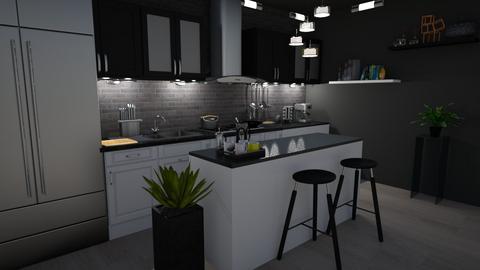 Modernized Kitchen - Modern - Kitchen - by lyrikkah