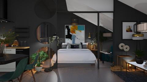 SMALL MANHANTTAN App - Bedroom  - by zarky