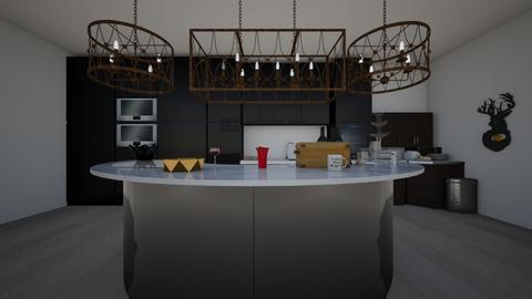 The rich kitchen - Classic - Kitchen  - by Itsavannah