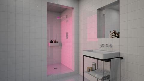 PINK GLASS - Modern - Bathroom  - by Maria Esteves de Oliveira