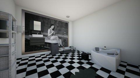 Fancy Bathroom  - Glamour - Bathroom  - by aliyahlaureano