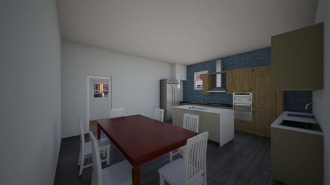 Kitchen I am  - Kitchen - by Henry Bowman