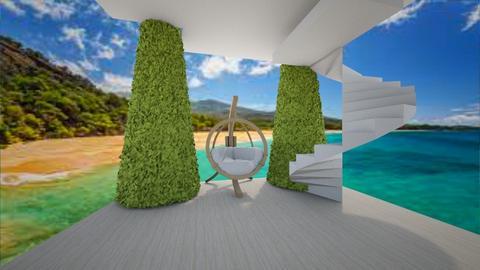 the ocean - Living room  - by bintia c