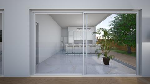 Modern hacienda_kitchen - by saratevdoska