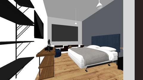 Habitachion  - Modern - Bedroom  - by MaluJaimes