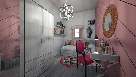 wrzosowa maria - Kids room  - by katarzynatadla