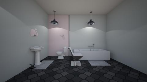Swan - Classic - Bathroom  - by bluebunny13