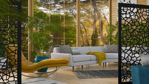 Chill - Eclectic - Living room  - by millerfam