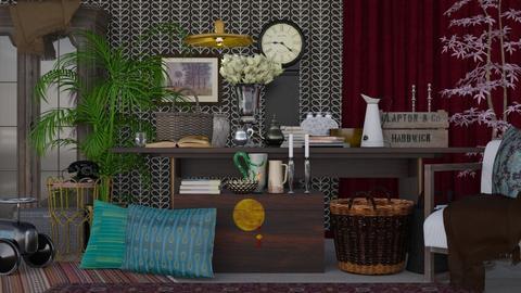 Thriftshop or Livingroom - Vintage - Living room  - by HenkRetro1960
