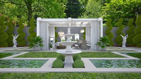 Garden Retreat 1 - Garden  - by Fofinha