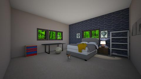 New House - Bedroom - by Slow as a Sloth