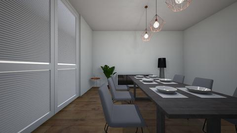 dining room - Modern - Dining room - by BRAMIE