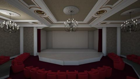 theatre stage - by fred20