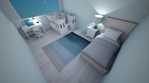 Turqoise - Kids room - by Pippies home