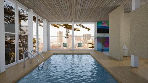 Indoor Pool - by kyrabaldwin